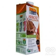 Leche Vegetal a Base de Arroz y Quínoa Sabor Chocolate 1L, Isolabio