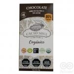 Chocolate Orgánico 85% Libre de Gluten y Sin Leche 100grs|Cacao Soul