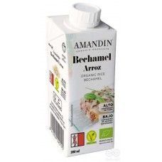 Crema Bechamel Orgánica Arroz 200ml|Amandin