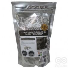 Cobertura Monedas Chocolate 85% Libre de Gluten y Sin Lactosa 500gr |Cacao Soul