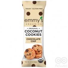 Galleta de Coco sabor Chocolate Chip 57grs|Emmy´s Organics