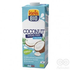 Alimento Líquido de Coco Sin Azúcar Orgánico 1L|Isolabio