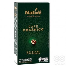 Café Orgánico Tostado y Molido 250grs|Native