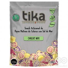 Chiloe Chips Papás Exóticas Con Sal de Mar 212grs| Tika