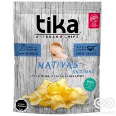 Nativa Andina Chips Artesanales con Sal Andina 180grs| Tika