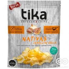 Nativa Cebollita Dulce Chips Artesanales con Sal Andina 180grs| Tika