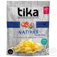 Nativa Patriota Chips Artesanales con Tomate, Cebolla y Perejil 180grs| Tika