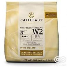 Chocolate Blanco bolsa 400grs|Callebaut