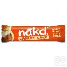 CARROT CAKE 35GRS (Barra de fruta y frutos secos cruda y sin gluten)|Nakd