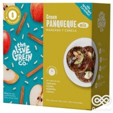 Green Pancake Mix Manzana y Canela 200grs |The Live Green Co