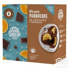 Green Pancake Mix Chocolate y Naranja 200grs |The Live Green Co