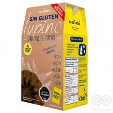 Galletas Lupino de Cacao Sin Gluten 180grs| Terrium