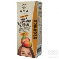Jugo Manzana Mango Orgánico 200ml Tetrapack|Ama_Time