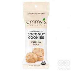 Galleta de Coco sabor Vainilla 42grs|Emmy´s Organics