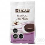 Cobertura Sabor Chocolate Semi Amargo Alta Fluidez 1Kg | Sicao