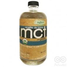 Aceite de Coco MCT Orgánico 500ml | Enature