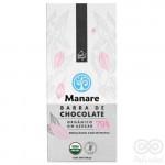 Chocolate Orgánico 79% Cacao Sin Azúcar 100g | Manare
