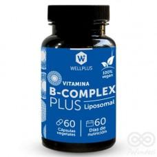 Vitamina B-Complex Vegano 60cap | Wellplus