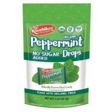 Doypack Caramelos de Menta Orgánicos, Sin Azúcar 56,7grs|Koochikoo