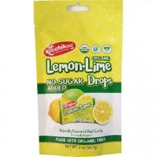 Doypack Caramelos de Lima Limón Orgánicos, Sin Azúcar 56,7grs|Koochikoo
