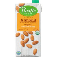 Alimento Liquido de Almendra Sin Azúcar Orgánico 946ML | Pacific Foods