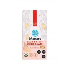 Chocolate Orgánico 85% Cacao Libre de Gluten y Sin Lactosa 100g | Manare
