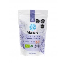 Chips Chocolate Orgánico 52% Cacao 400g | Manare