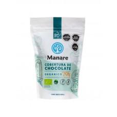 Cobertura Chocolate Orgánico 70% Cacao 400g | Manare