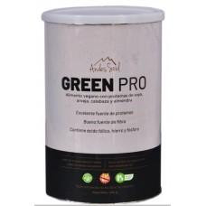 Bebida Green Pro 500grs | Andes Soul