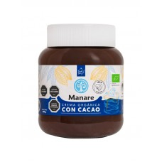 Crema Orgánica Vegana con Cacao 400 g | Manare