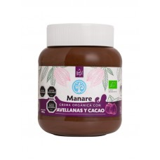 Crema Orgánica con Avellanas y Cacao 400 g | Manare