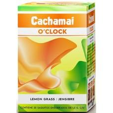 Infusión de Hierba Limón y Jengibre 20g (20 bolsitas) | Cachamai