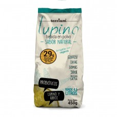 Bebida de Lupino en Polvo Probióticos 450g| Terrium