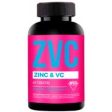 Zinc 20 Mg + Vitamina C 100 MG 60 Cap Vegano| WildFoods