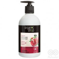 Jabón Líquido de Manos Pulsera de Granadas con Vitaminas 500ml | Organic Shop