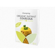 Couscous Orgánico Instantaneo Sin Gluten 200 grs. Clearspring (INSTANT COUSCOUS GLUTEN FREE ORGANIC )
