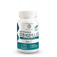 D3+K2 Plus de Wellplus 100% Vegano