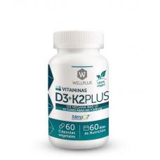 D3+K2 Plus de Wellplus 100% Vegano
