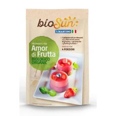 Flan de Frutas Orgánico, Libre de Gluten 62grs|S.Martino