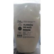 Almidón de Maiz  500grs Sin Gluten y Vegano DILICI