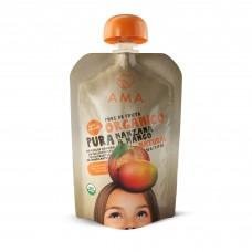 Puré Manzana Mango Orgánico 90g|Ama_Time