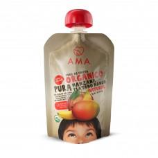 AMA Puré Manzana Plátano Mango Orgánico 90g