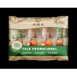 Pack Promocional 4 Purés de Frutas AMA  por $1.990