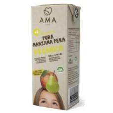 AMA Jugo Manzana Pera Orgánica 200ml Tetrapack