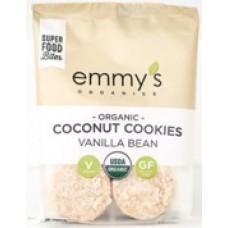 Galleta de Coco sabor Vainilla 57grs. Emmy´s Organics