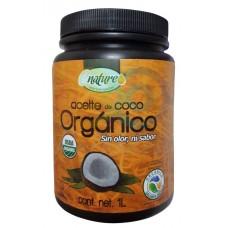 Aceite de Coco Orgánico Sin Olor 1L | Enature