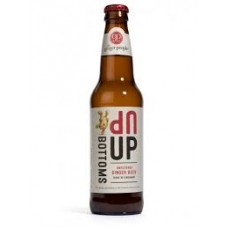 Cerveza Sin Alcohol Jengibre BOTTOMS UP GINGER BEER 335mL