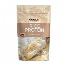 Proteína de Arroz en Polvo Orgánico (RICE PROTEIN 83% ORGANIC 200GRS) Dragon
