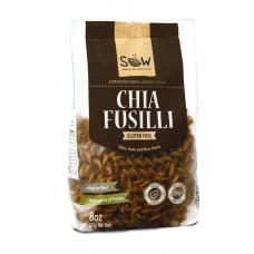 Pasta de Chia Fusilli Libre de Gluten 227grs|Sow