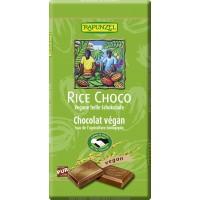 Cobertura de chocolate con jarabe de arroz orgánica 100g|Rapunzel
